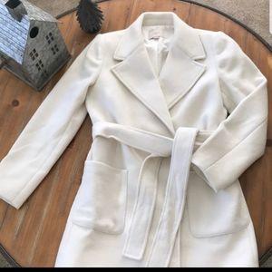 Loft Winter White Coat